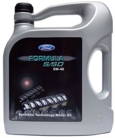 Масло моторное FORD Formula S/SD Synthetic Technology Motor Oil SAE 5W-40 5L 14E9D1